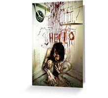 HELL-O Greeting Card