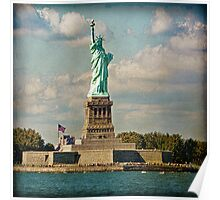 The Statue of Liberty, USA Poster