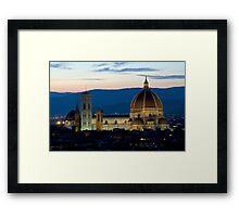 Italie - Toscane - Florence (Firenze) Framed Print