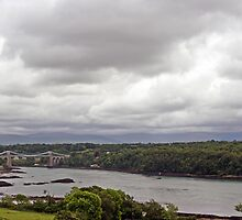 Menai Bridge by Gary Lewis