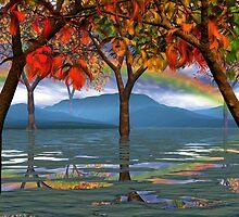 Kiz's Country Glade 4 Fall by Sazzart