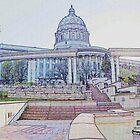 Capitol Building, Jefferson City, Missouri ~ by Brion Marcum