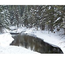 Jordan River Photographic Print
