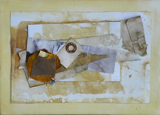 Mixed Media Collage #2 by Caren