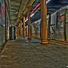 Brooklyn Subway R by evargas