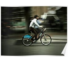 boris bike Poster