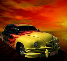1950 Packard Custom Low Rider by TeeMack