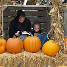 Amish Girls Studying by BarbL