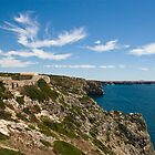 Algarve: Cliff Coastline by Kasia-D