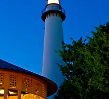 St. Simons Island Light House September 2010 by Phillip S. Vullo Jr.