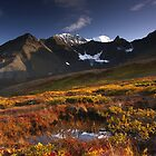 Alpine Autumn by Marty Samis