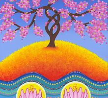 cherry blossom spring to life by Elspeth McLean
