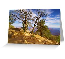 """Sunrise On The Rim"" Greeting Card"
