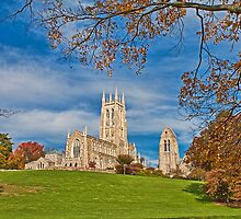 Cathedral. Bryn Athyn, Pennsylvania. by vadim19