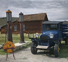 Bodie CA The Old Bodie Shell Station by photosbyflood