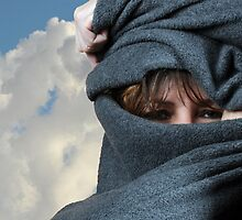 Blanketed Woman by lamiel