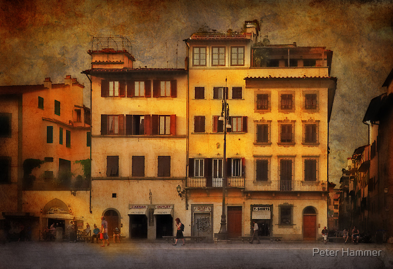 Somewhere in Florence by Peter Hammer
