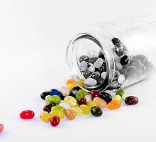 Jelly Belly Jar by DeansOnToast