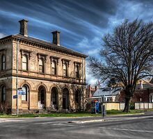 Post Office and Town Hall (Colour) - Clunes by Jason Ruth
