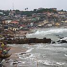 High Winds - Cape Coast, Ghana by helenlloyd