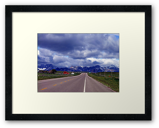 Road to the Rockies by George Cousins