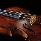 Violin with rosin by galemc