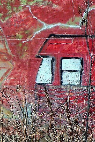 When Lightening Strikes..Graffiti by paintingsheep