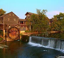 The Old Mill Square by Lanis Rossi