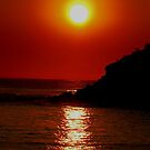 Big Red Sun by Janie. D