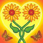 sunflower eternal love by Elspeth McLean