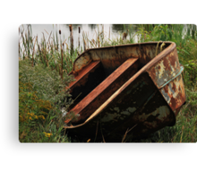 Cry Me A River Canvas Print