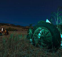 Ghost Tractor by MattGranz
