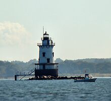 Conimicut Light by Carrie Blackwood