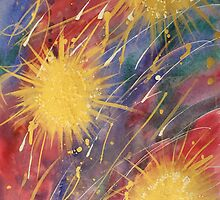 Colours 3 - Fireworks by Susan Moss