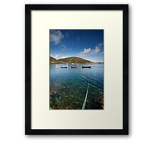 Barlogue Creek, West Cork, Ireland Framed Print