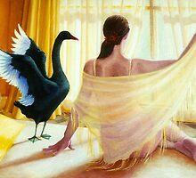 Totem Dance, oil on canvas, 2006. by fiona vermeeren