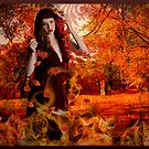 Lady Autumns gentle fire by Christie  Moses