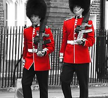 Guardsmen marching in London by chris-csfotobiz