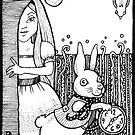 White Rabbit by Anita Inverarity