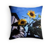 Just Someflowers Doing Their Thing And Doing It So Well Throw Pillow