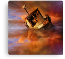 Soylent Green instead Shoulder from My Way of Seeing Canvas Print