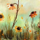 WILD FLOWERS- Acrylic Painting by Esperanza Gallego