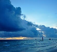 Boracay Sunset I by Denis Molodkin