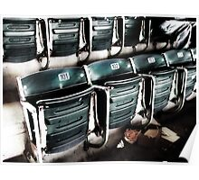 chicago cubs grandstand seats Poster
