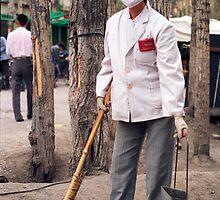 Beijing street -sweeper    by jensNP