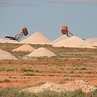 The opal fields, Coober pedy,S.A. by elphonline