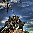 The Iwo Jima Memorial by balexander101