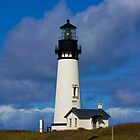 Yaquina Head Lighthouse by Robin  Koster