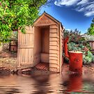 Aussie Outhouse by Shannon Rogers