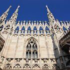 Facade of Milan Duomo by Indrani Ghose